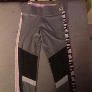 Pink leggings large